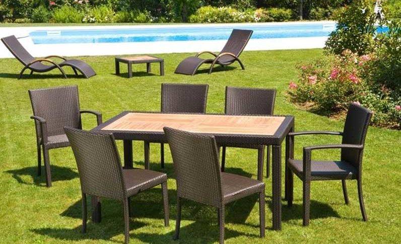 Tavoli e sedie da Giardino a Brescia, Valsabbia e Lago di Garda. Mobili Zanni a Vobarno