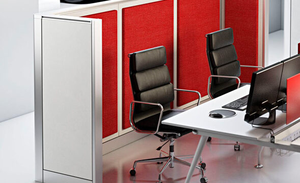 Pareti divisorie per uffici, arredamento per ufficio a Brescia, Valsabbia e Lago di Garda. Mobili Zanni a Vobarno