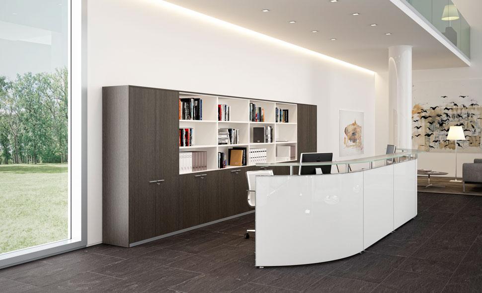 Reception - Arredamento per Ufficio | Mobili Zanni Brescia ...